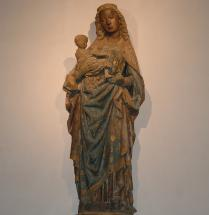 Madonna in der Kolumba-Kapelle